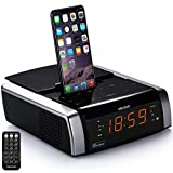 Best Iphone Alarm Clock Docks - VELOUR iPhone Speaker with Docking Station, Charge/Play Review