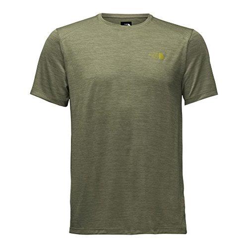 The North Face Men's Hyperlayer FD Short Sleeve Crew - Shirt - Grape Leaf Heather - XXL [並行輸入品] B07F4PGJ3B