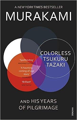 Colorless Tsukuru Tazaki and His Years of Pilgrimage - Malaysia Online Bookstore