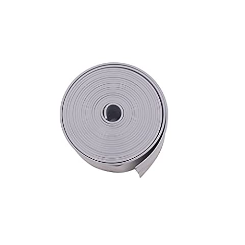 LAOZHOU Tub And Wall Caulk Strip Kitchen Caulk Tape Bathroom Wall Sealing Tape Waterproof Self-Adhesive Decorative Trim (Caulk Grey)