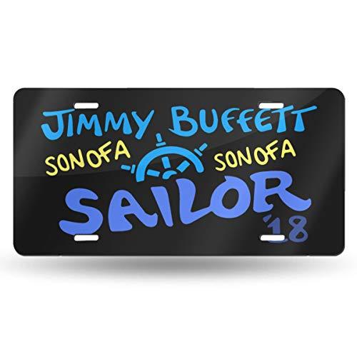 LemonationFF Jimmy Buffett License Plate 6