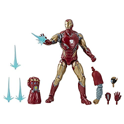 """Avengers Marvel Legends Series Endgame 6"""" Collectible Action Figure Iron Man Mark Lxxxv Collection, Includes 7 Accessories"""