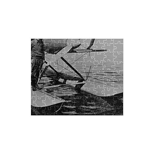 Media Storehouse 252 Piece Puzzle of James Doolittle on The Float of his Curtiss R3C Racer, 1925 (1194639)