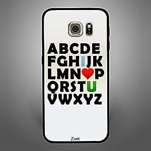 Samsung Galaxy S6 Edge abcd i love u