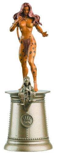 Cheetah DC Chess Figure & Magazine #52 Black Queen