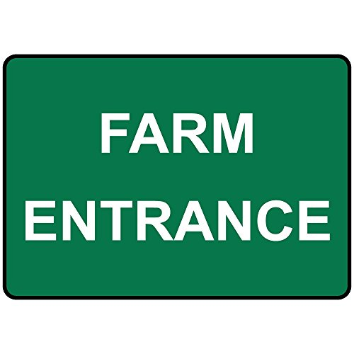 um Metal Sign 24 in x 18 in (Farm Entrance)