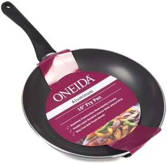 Sartén 10 en Negro de aluminio antiadherente Oneida, Case Pack de 6: Amazon.es: Hogar