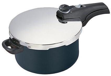 Buy Manttra 76522 6 Quart Hard Anodized Smart Pressure Cooker Online