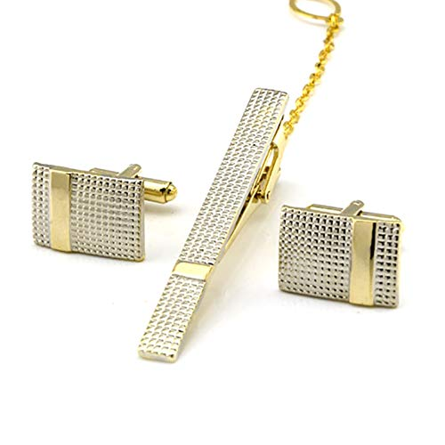 Oldlila 1 pcs Tie Clips Gold Simple Pattern Tie Clips For Men's Business Wedding Clips by Oldlila (Image #3)