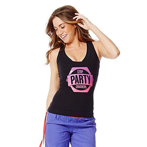 Zumba Fitness Women's Stop Party Crashers Racerback Top