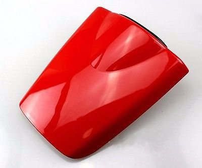 Motorcycle Shinny Gloss Red Rear Passenger Pillion Hard Seat Cowl ABS Motor Fairing Cover For 2003-2006 Honda CBR600RR CBR 600 RR 600RR F5 2004 2005 03-06