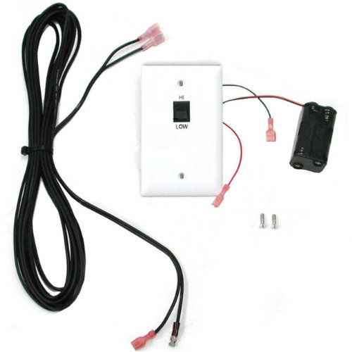 Peterson Real Fyre Basic Variable Flame Height Wall Switch With Wire For -15 Pilot Kits Only