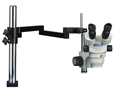 Luxo 23714AC Binocular Microscope, 23 mm, Optics, Articulating Arm Stand, 17.5