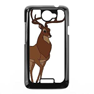 HTC One X Phone Case Black Bambi Great Prince of the Forest ESTY7800089