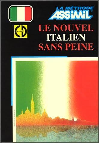 Nouvel Italien Sans Peine Livre 4 Cd Giovanna Galdo