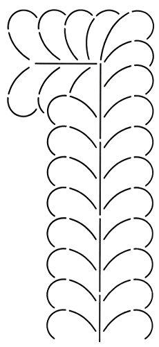 Corner Border Quilt Stencil (Quilting Creations Corner and Border Quilt Stencil, 4