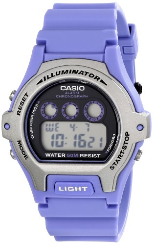 Casio Women's LW-202H-6AVCF Illuminator Stainless Steel Watch with Blue (G-shock Mini Watch)