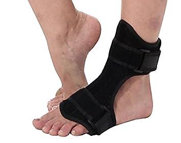 c045437ac9 Plantar Fasciitis Night Drop Foot Brace - Dorsal Splint AFO Orthotic  Stretch Fits Right & Left