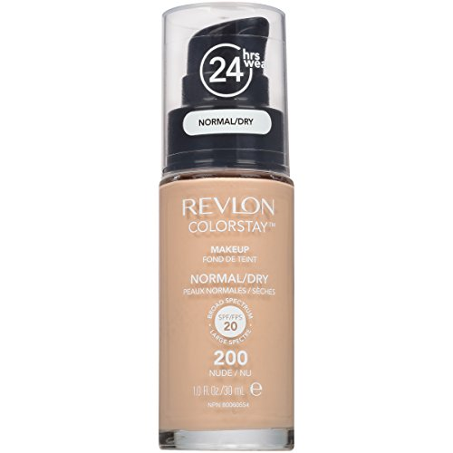Revlon ColorStay Liquid Foundation For Normal/dry Skin,Nude, 1 Fl Oz