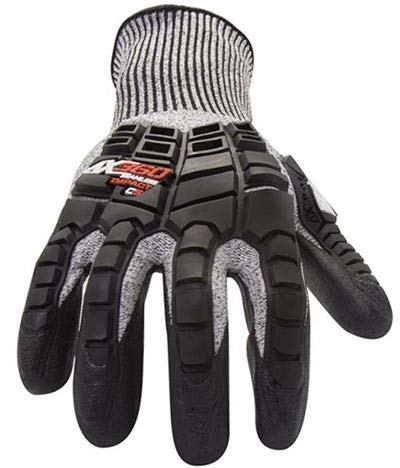212 Performance Gloves AX360 Impact Cut 5 Gloves - Large (2 Pairs) by 214 Performance Gloves (Image #1)