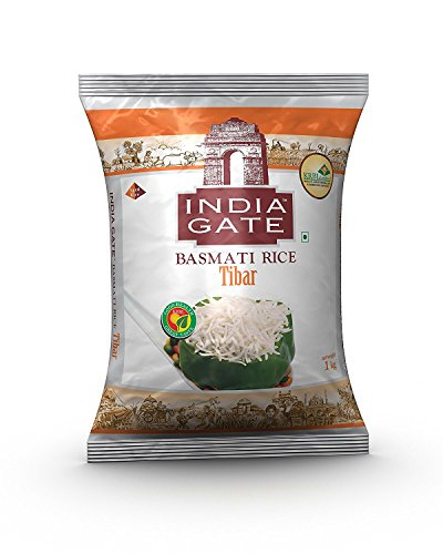 India Gate Basmati Rice Tibar 1kg / 2.2lb by India Gate