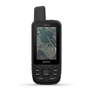 "Garmin GPSMAP 66s, Handheld Hiking GPS with 3"" Color Display and GPS/GLONASS/GALILEO Support"