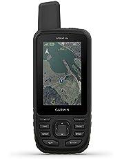 "Garmin GPSMAP 66s, Rugged Multisatellite Handheld with Sensors, 3"" Color Display, Monterra Gray (010-01918-00)"