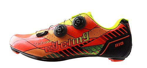 aee42b41b8008 Tiebao Professional Road Bike Cycling Shoes Ultralight Breathable Carbon  Fiber Non-Slip Riding Shoes