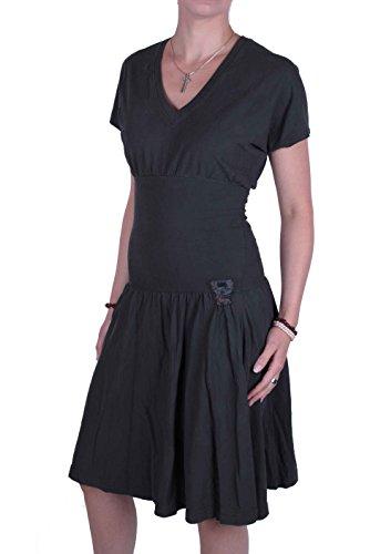 Diesel Robe Femmes 100% Coton Swanco Gris