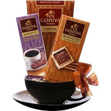 Cup of Godiva Mug and Saucer Set: Amazon.com: Grocery & Gourmet Food