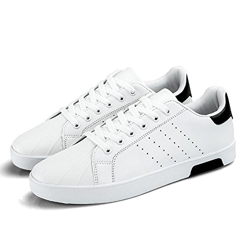 Men's Shoes Feifei Spring and Autumn Fashion Personality Leisure Breathable Plate Shoes 4 Colors (Color : 03, Size : EU40/UK7/CN41)