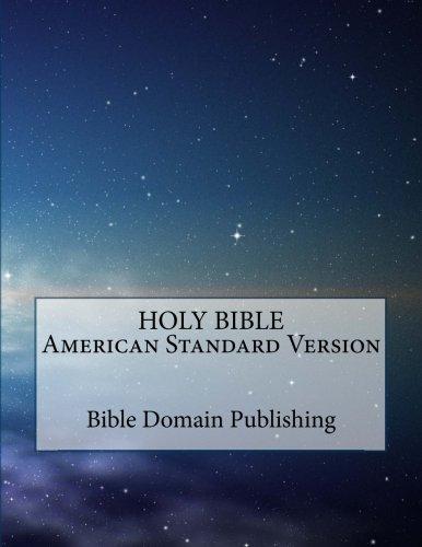 (Holy Bible American Standard Version)