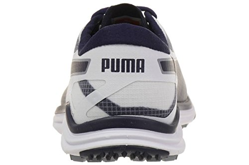 Puma BioDrive - strong blue-peacoat-fluro yell Weiß/Tradewinds/Peacoat