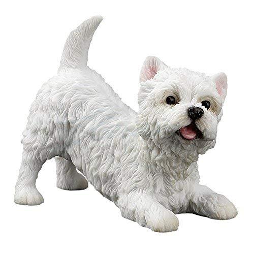 Veronese Design West Highland White Terrier Dog - Highland Dog Figurine Terrier West