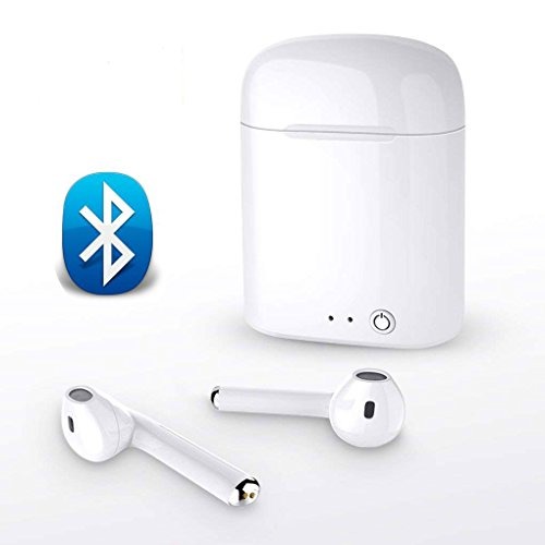 Bluetooth Headset, KEIBIwireless Earbuds, with Microphone Ea