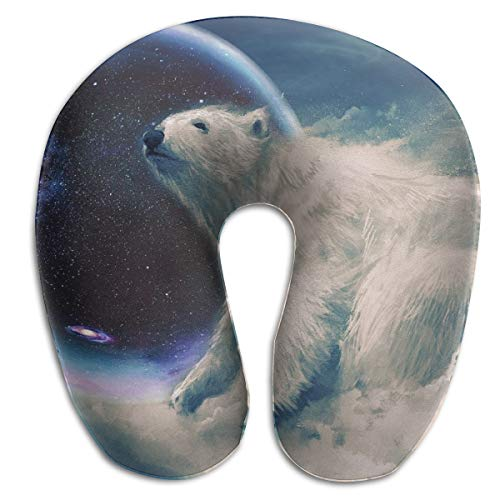 - Stars Bears Polar Bears Team Rest for Airplanes Travel Neck Pillow Comfort and Convenience Sleeping Neck Pain U Shaped Pillow for Outdoors Car Office Home Travel Neck Pillow