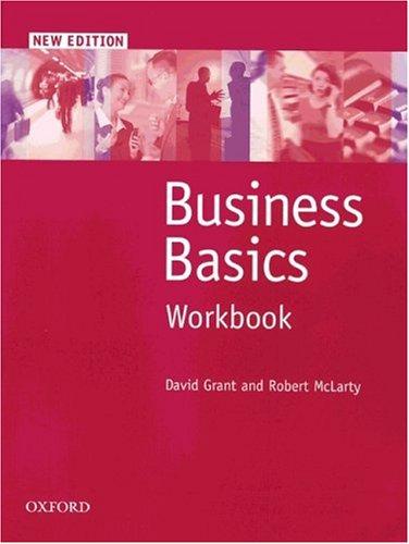 Business Basics - Second Edition: Business Basics, New edition, Workbook