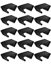 15 PCS Outdoor Patio Wicker Furniture Clips Sectional Sofa Rattan Furniture Clamps Chair Fasteners Connect The Sectional or Module Outdoor Couch Patio Furniture Connect Clamps