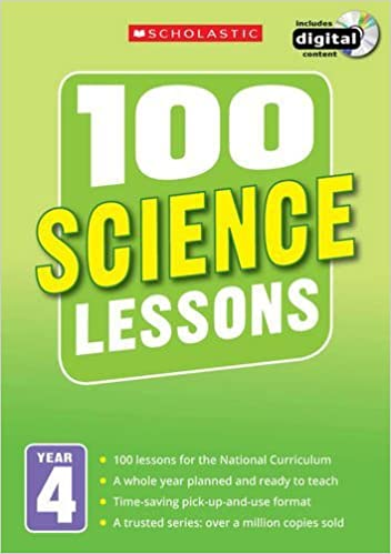 Book 100 Science Lessons: Year 4 (100 Lessons - New Curriculum)