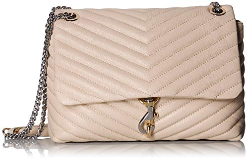 Rebecca Minkoff Women's Edie Flap Shoulder Bag Clay One - Flap Shoulder Bag