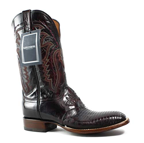 Lucchese Men's Limited Release Western Leather Boot, 9 (Lucchese Lizard Boots)