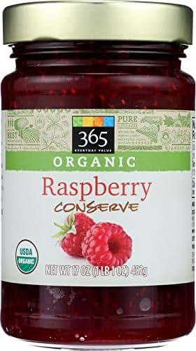 365 Everyday Value, Organic Raspberry Conserve, 17 oz