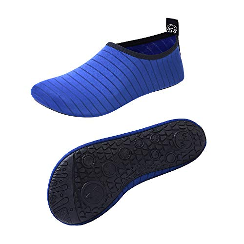 FEREMO Women Men Kids Swim Water Shoes Quick-Dry Aqua Sports Socks for Outdoor Beach Boat Surf Dive Car -