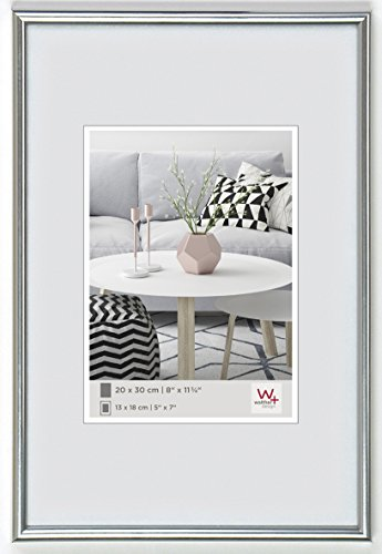 - Walther Galeria KS030H 20 x 30 cm Plastic Picture Frame, Silver