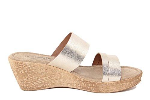 LA COMODA FASHION - Sandalias de vestir para mujer dorado dorado