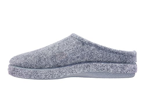 Pointures 50 Petites SPAIN Andres Machado chaussons Unisex Gris AM001 26 AUTHÉNTIQUES MADE et IN Grandes O8OPq
