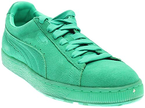 PUMA Mens Suede Classic Ice Mix Athletic Green 8 ()