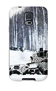 Galaxy Case - Tpu Case Protective For Galaxy S5- Tank