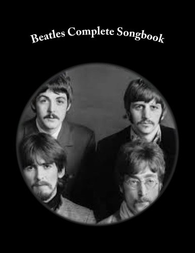 Beatles Complete Songbook: Beatles Easy Read Complete Songbook