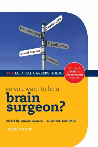 So you want to be a brain surgeon? (Success in Medicine) Pdf